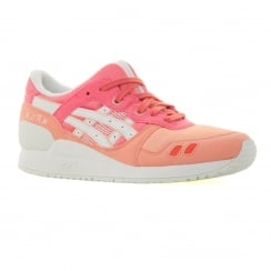 Asics Tiger Youths Gel Lyte III 316 Trainers (Guava/White)