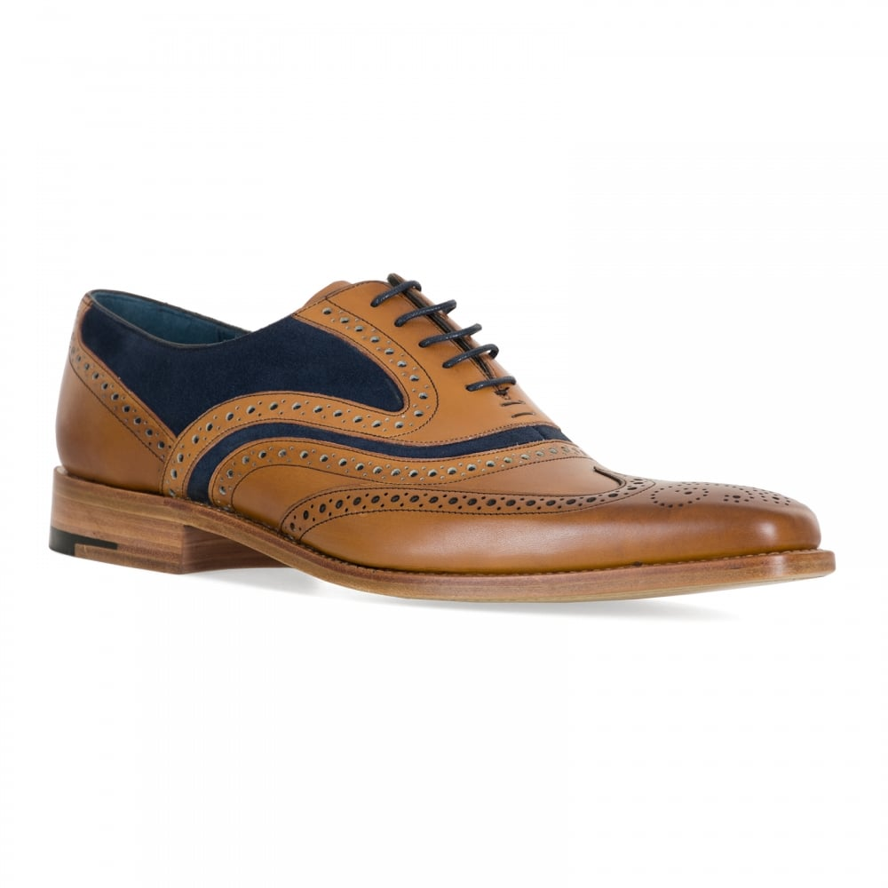 f43ce13a Barker Shoes Mens McClean Shoes (Tan) - Mens from Loofes UK