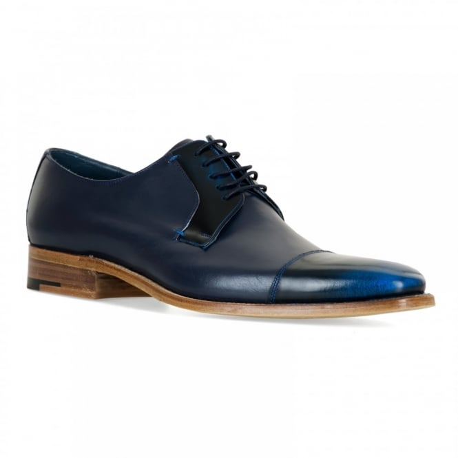 Barker Shoes Mens Powell Shoes (Navy)