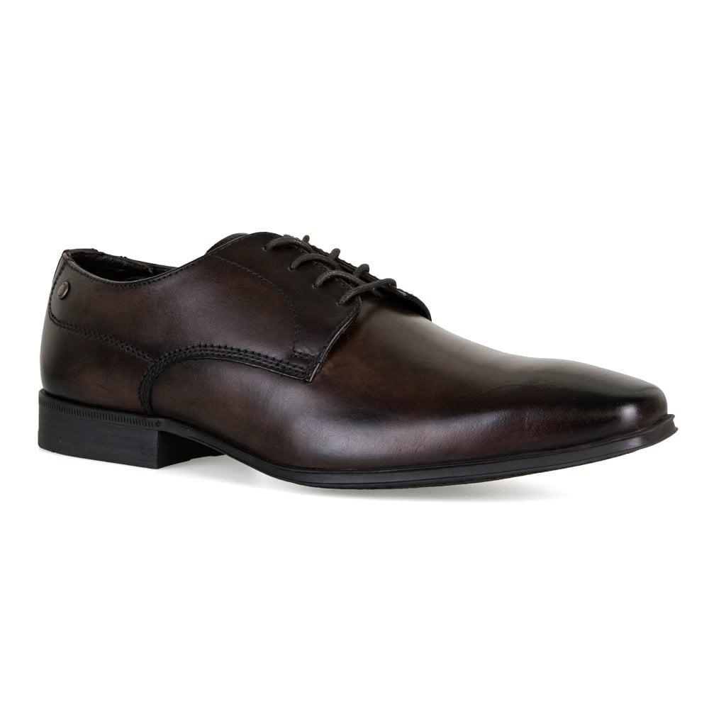 Base  Herren Tyne Waxy Leder Derby Schuhes (Dark Braun)   Braun) Herren from ... bd29e3