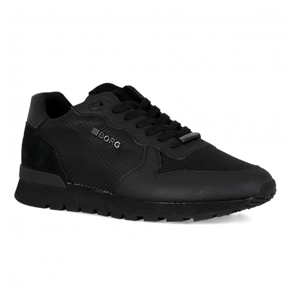 99be280d3409ae Bjorn Borg Mens R605 Low KPU Trainers (Black) - Mens from Loofes UK