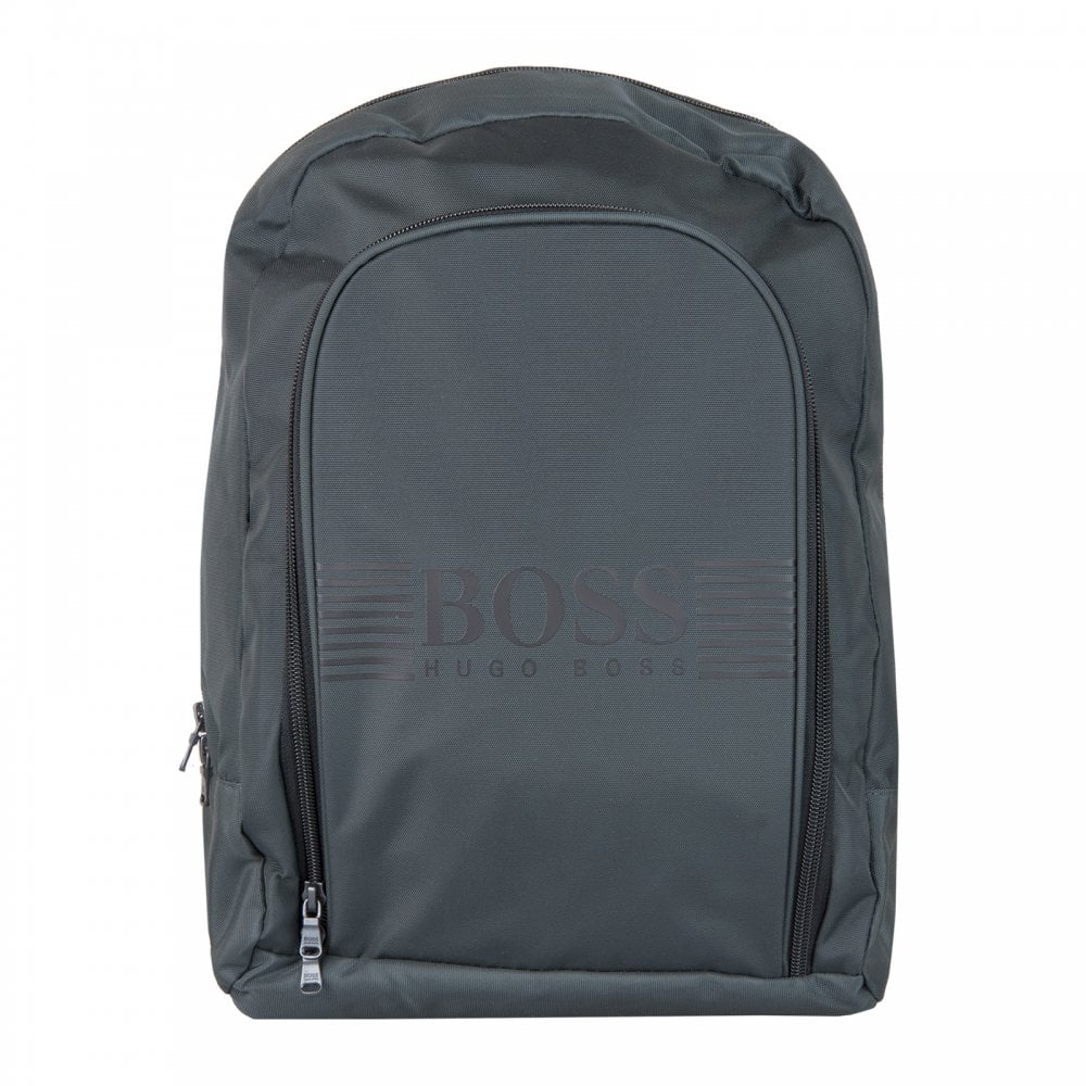 Boss Juniors Backpack (Dark Grey) - Bags from Loofes UK 9bb4fbb876