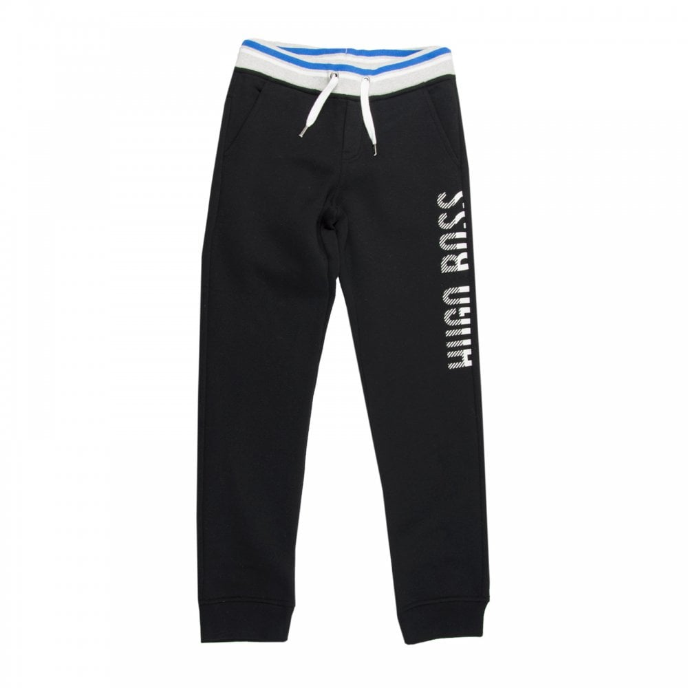selected material bottom price clients first Juniors Striped Trim Joggers (Black)