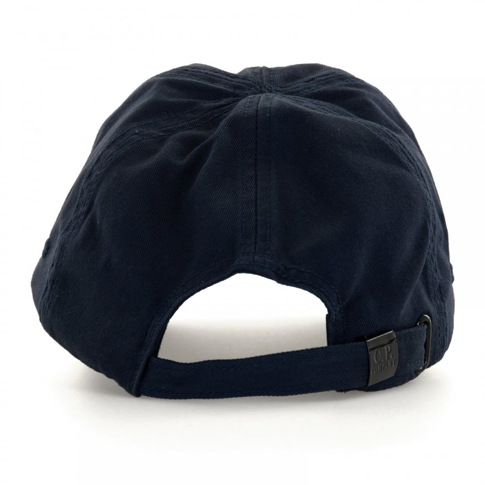 C.P. Company Mens Baseball Cap (Navy) - Mens from Loofes UK b8d8d254c9f2