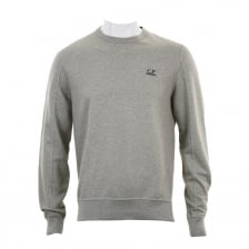 C.P. Company Mens Crew Neck Sweatshirt (Grey)