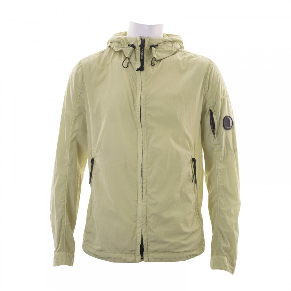 C.P. Company Mens Lightweight Hooded Jacket (Green) - Mens from ...