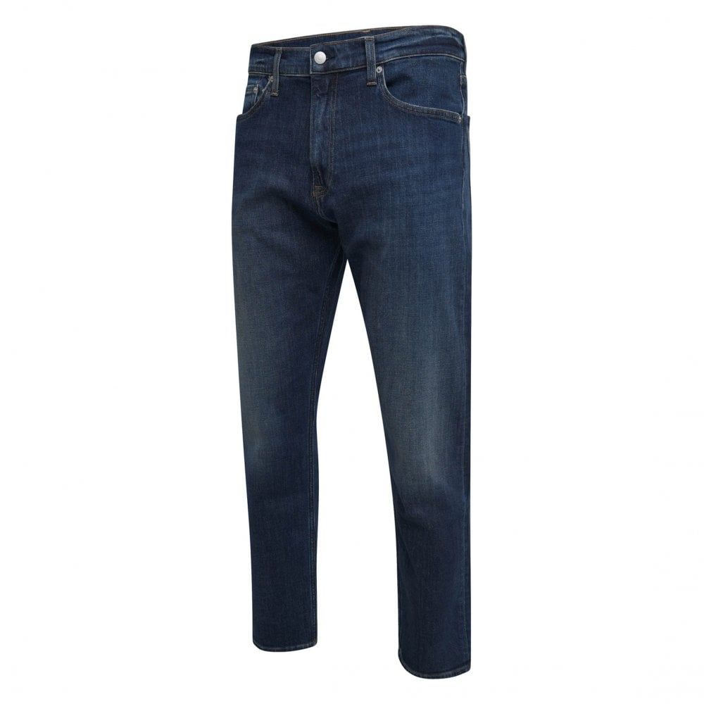 628a046d Calvin Klein Mens Athletic Taper Jeans (Blue) - Mens from Loofes UK