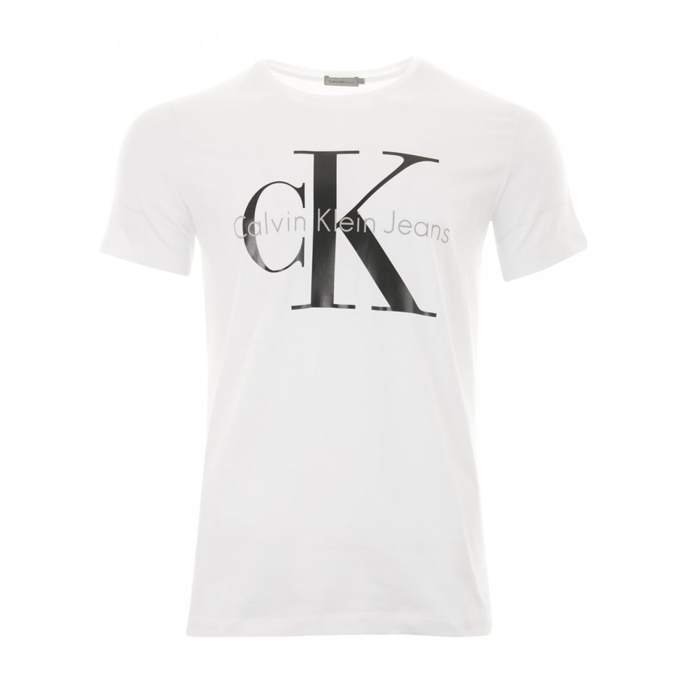 calvin klein mens reissue t shirt white mens from loofes uk. Black Bedroom Furniture Sets. Home Design Ideas