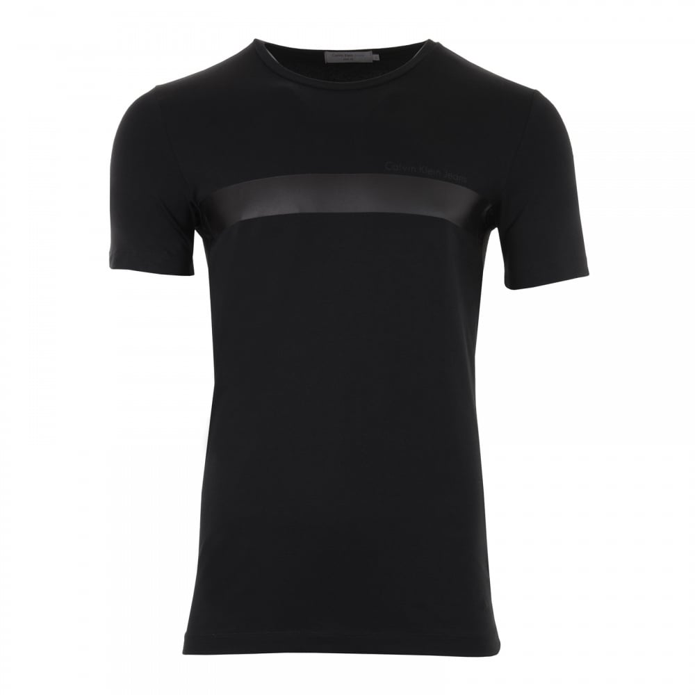 calvin klein mens tarkin slim fit t shirt black mens from loofes uk. Black Bedroom Furniture Sets. Home Design Ideas
