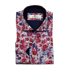 Claudio Lugli Mens CP6304 Shirt (Red)