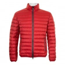 Colmar Mens Basic Quilted Down Jacket (Red)