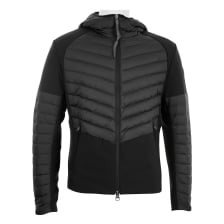 Colmar Mens Contrast Hooded Quilted Down Jacket (Black)