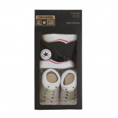Converse Infants Baby Socks (Black/White)