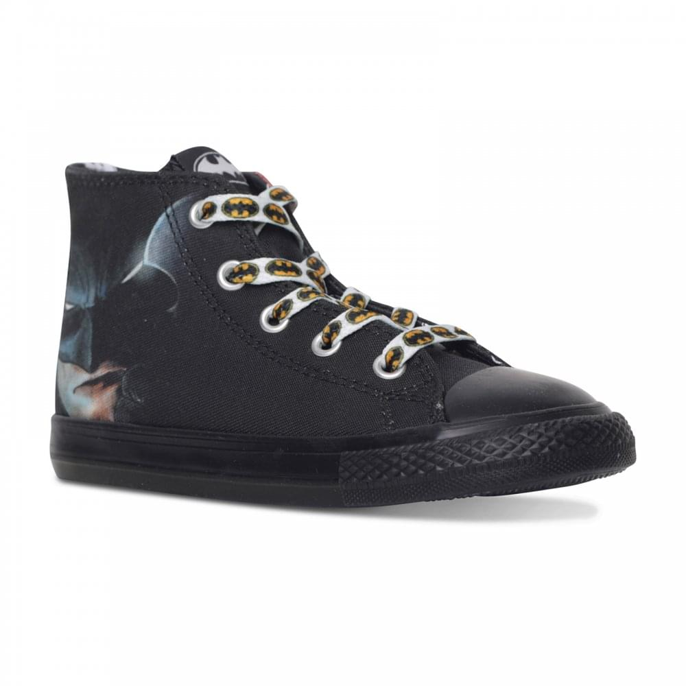 3b76206cabb2 CONVERSE Converse Infants Batman Hi Trainers (Black) - Kids from ...