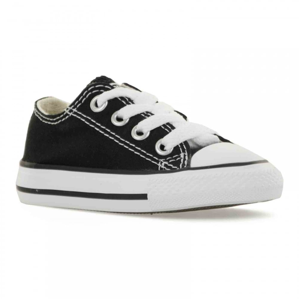 5cdd4d40e20263 CONVERSE Converse Infants CT Ox Trainers (Black) - Kids from Loofes UK
