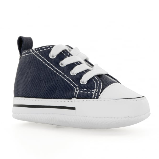 34fcd99518ad CONVERSE Converse Infants First Star Crib Trainers (Navy) - Kids ...