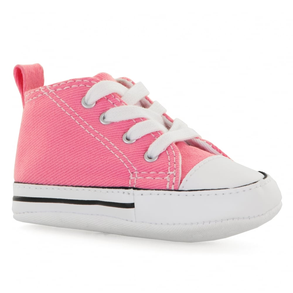 cc024988c346 CONVERSE Converse Infants First Star Crib Trainers (Pink) - Kids ...