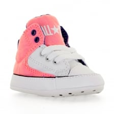 Converse Infants First Star HI 117 Trainers (Pink)