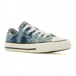 Converse Juniors Denim OX 116 Trainers (Ash Grey/Denim)