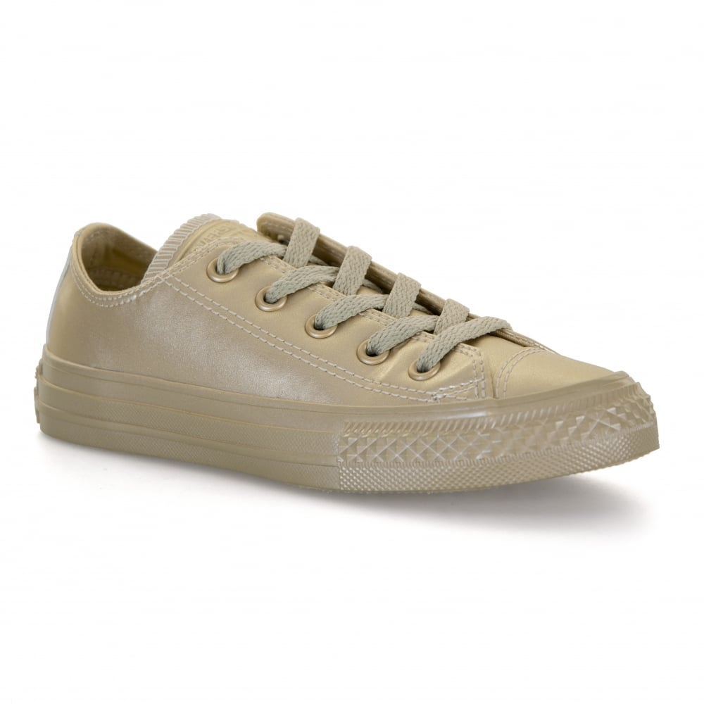 CONVERSE Converse Juniors Metallic Leather 317 Trainers (Gold ... f24987ebb