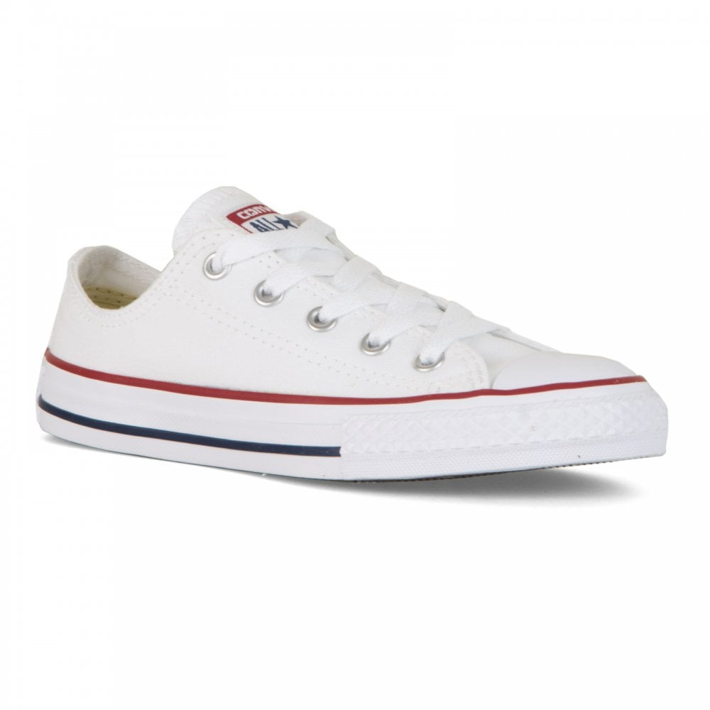 Converse Juniors OX Trainers (White