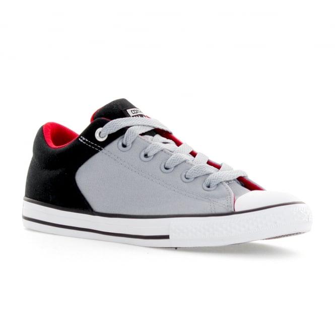 6b7be04157c150 converse juniors street slip ox 117 trainers black blue kids from loofes uk