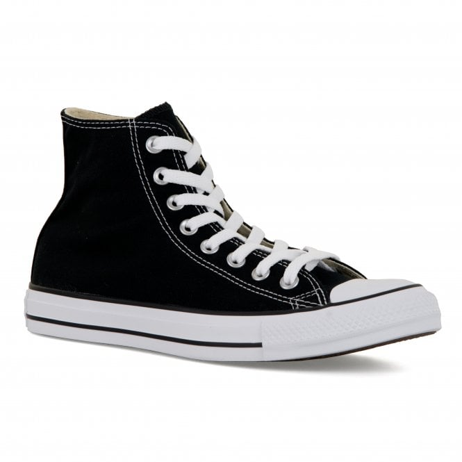 CONVERSE Mens All Star Chuck Taylor HI Trainers (Black)