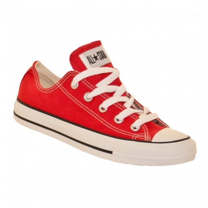 Converse Mens All Star Ox Trainers (Bright Red)