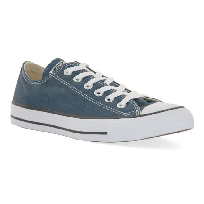 CONVERSE Mens All Star Ox Trainers (Denim Grey)