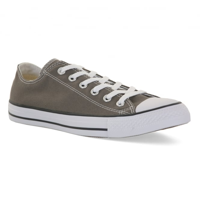 CONVERSE Mens Chuck Taylor All Star Ox Trainers (Grey)
