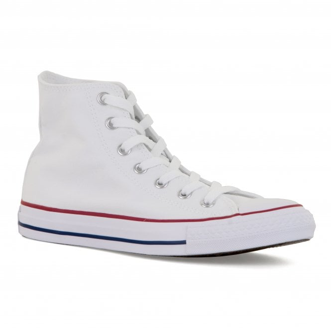 CONVERSE Mens Chuck Taylor Core Hi Trainers (White)
