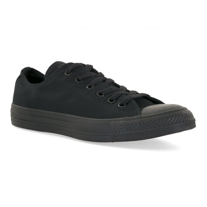 CONVERSE Mens Chuck Taylor Oxford Trainers (Black)