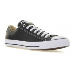 Converse Mens Core Leather OX Trainers (Black/White)