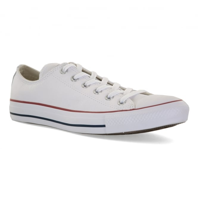 CONVERSE Mens Core Leather OX Trainers (White)