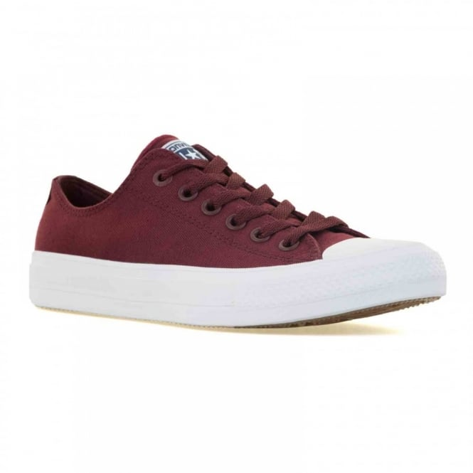 CONVERSE Mens CT II 316 Trainers (Maroon/White)