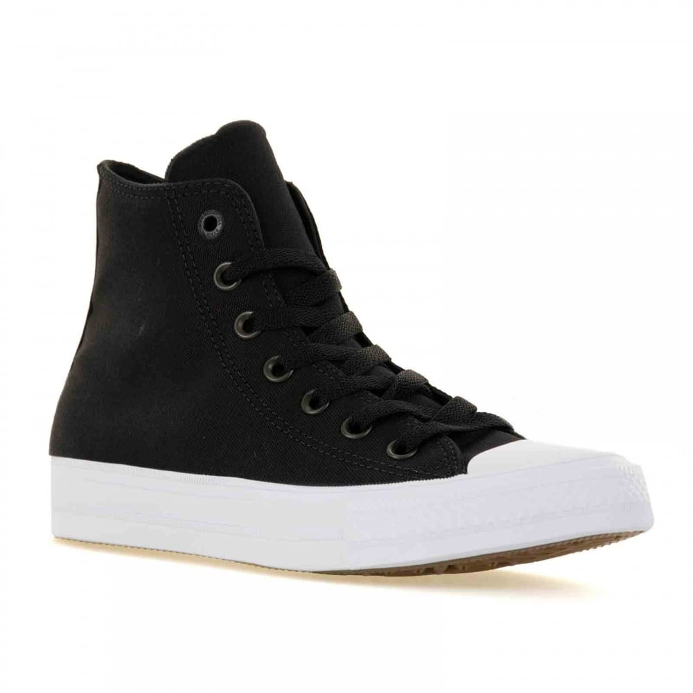 25a8d51a5e285 CONVERSE Converse Mens CT II Hi 316 Trainers (Black/White) - Mens ...