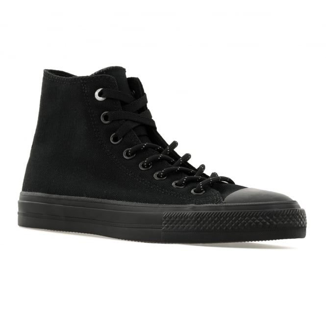 CONVERSE Mens CT II Hi Shield Canvas 316 Trainers (Black)