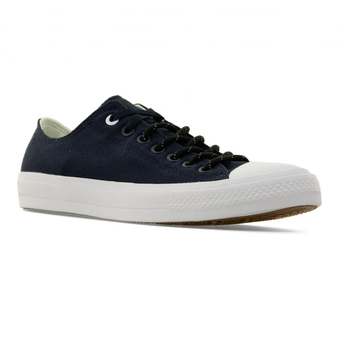 CONVERSE Mens CT II OX Shield Canvas 416 Trainers (Navy)