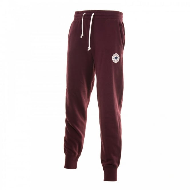 CONVERSE Mens Fleece Pants (Maroon)