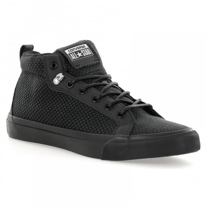 CONVERSE Mens Fulton OX 216 Trainers (Black)