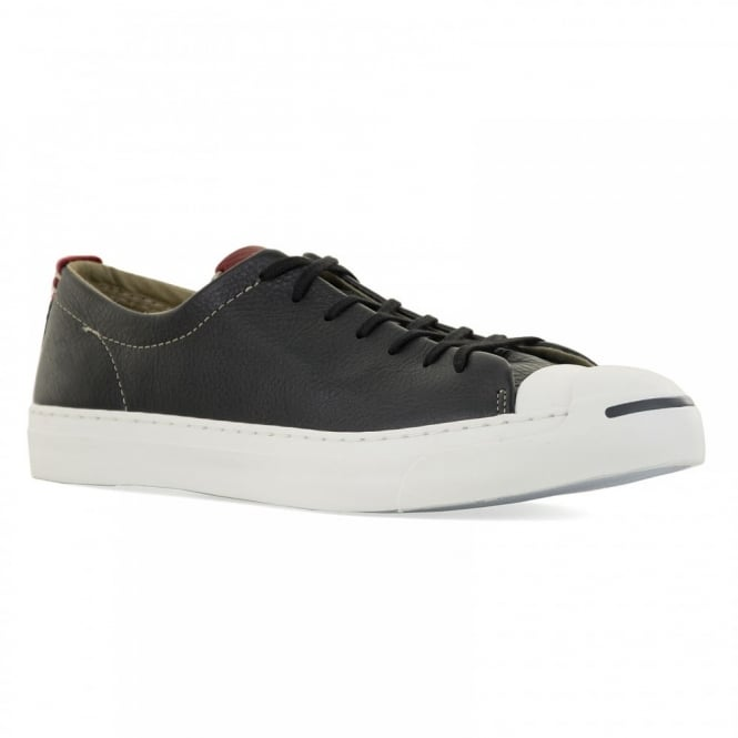CONVERSE Mens Jack Purcell OX 116 Trainers (Black)