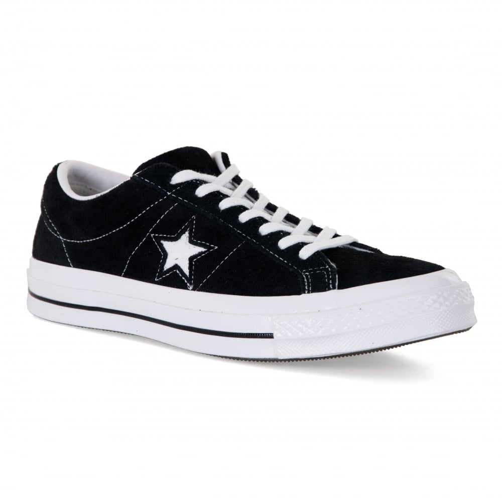 e659fa7ddc01 CONVERSE Converse Mens One Star Trainers (Black) - Mens from Loofes UK