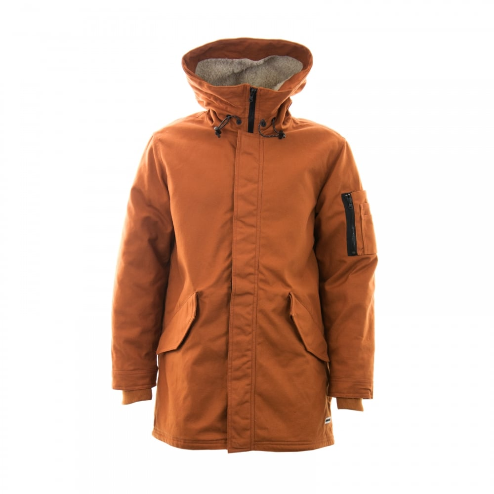 CONVERSE Converse Mens Quilted Warm Fishtail Parka Coat ...