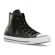 Converse Womens CT High Metallic Snake Trainers (Black)