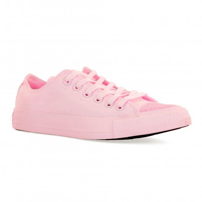 30456628d40e CONVERSE Converse Womens Glitter Toe OX Trainers (Pink) - Womens ...