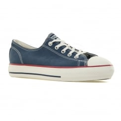 Converse Womens High Line Peached Canvas Trainers (Navy/Egret)