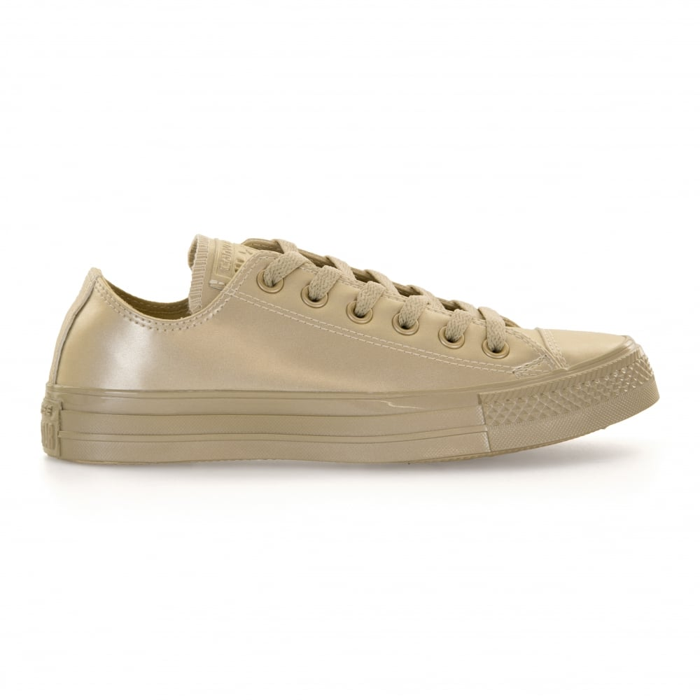 ca91089a47a8 CONVERSE Converse Womens Metallic Leather 317 Trainers (Gold ...