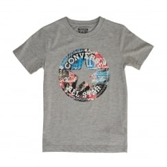 Converse Youths Chuck Fill T-Shirt (Grey)