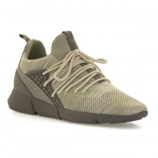 Cortica Mens Rapide Knit 317 Trainers (Sand)