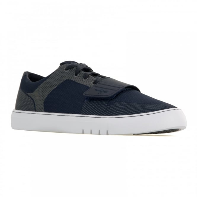 Creative Recreation Mens Cesario Lo Woven 116 Trainers (Navy/Pewter)